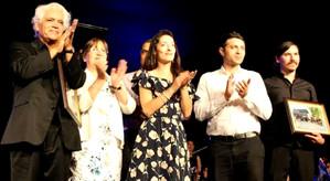 Gran presentación musical de Roberto Bravo en Rinconada