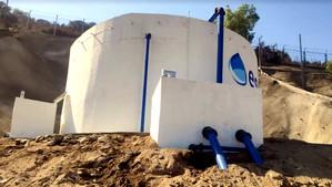 Esval pone en marcha nuevo estanque de agua potable que beneficiará a cerca de 2.500 hogares de Cate