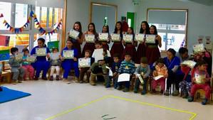 """Programa Senda Previene Catemu celebró el Día del NO TABACO en el jardín infantil """"Los Arrayane"""
