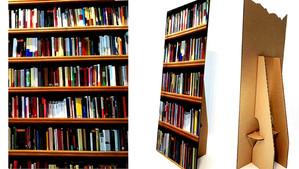 ¿Por qué hay personas que dan declaraciones usando de fondo una estantería de libros falsa?
