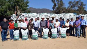Más de dos mil ganaderos de la región fueron beneficiados por el Gobierno con alimentos para sus ani