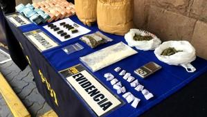 PDI Los Andes incautó droga en ovoides y oculta en fajas