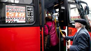 En julio debuta rebaja de 50% en la tarifa del transporte público que beneficiará 2,3 millones de ad