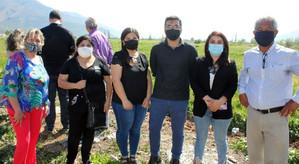 """Comité Habitacional """"Cumbres de Llay Llay"""" ya cuenta con terreno gracias a histórico aporte del GORE"""