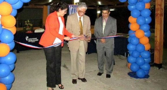 Instituto Profesional Libertador de Los Andes inauguró nuevo sector de esparcimiento
