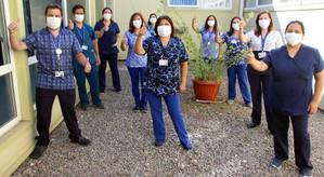 """""""Nuestro equipo se ha preparado para enfrentar esta pandemia y así cumplir adecuadamente su rol como"""