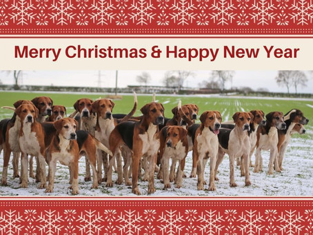 Merry Christmas from the Hurworth Hunt