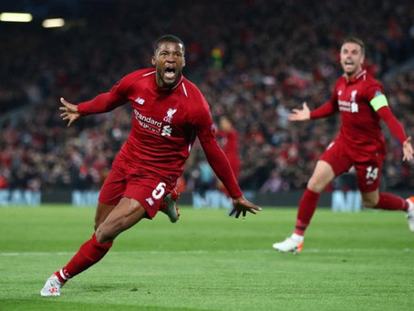 It's looking 'increasingly likely' that Gini Wijnaldum will leave Liverpool