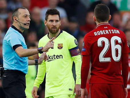Robbo regrets his actions toward Messi in Liverpool vs Barca game