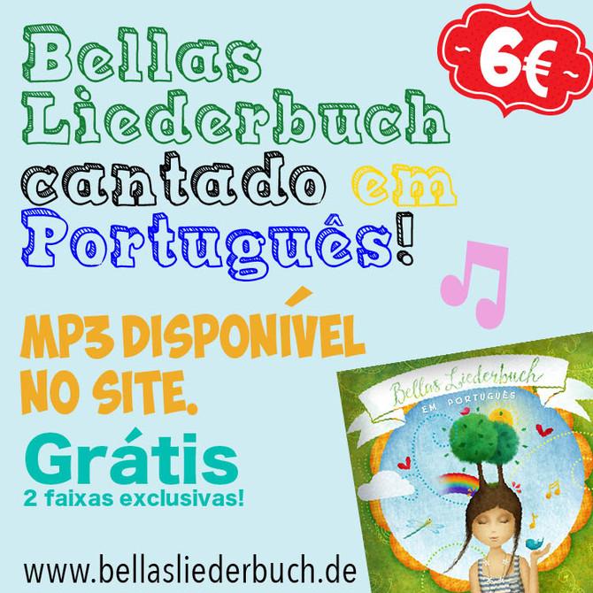 Bellas Liederbuch MP3 em português à venda!