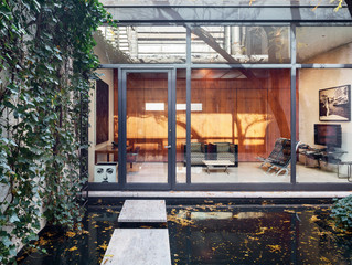 A Secret Little Glass Home in the Heart of New York (From NY Times)