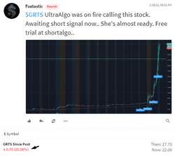 $GRTS  Stock Trading Ideas