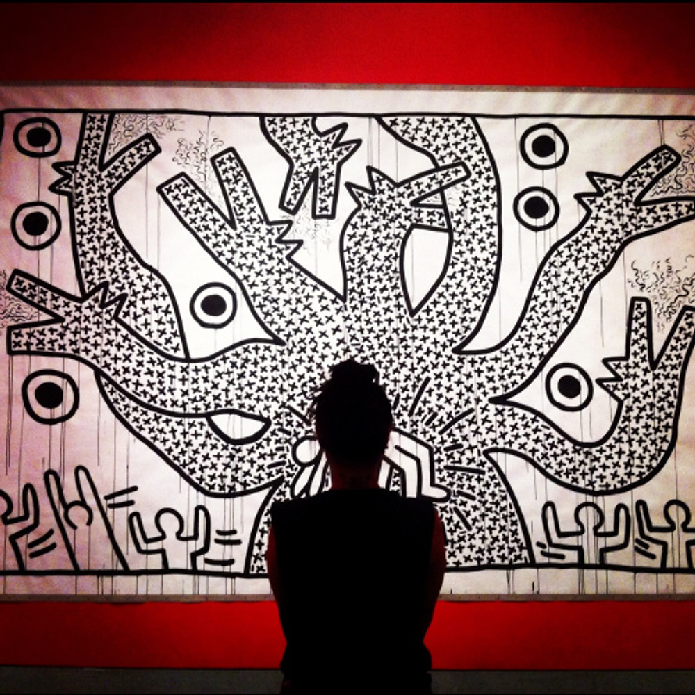 brooklyn_museum_keith_harring_exhibit