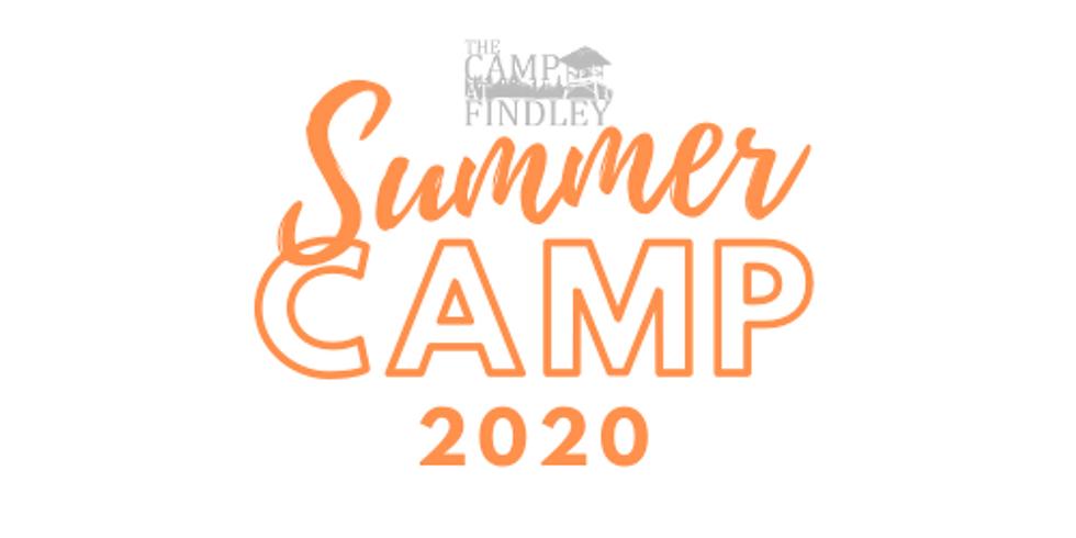 Summer Camp Week #2, Junior High. Grades 6-8