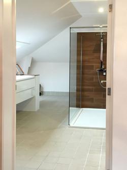 slk 2 boven zicht op douche