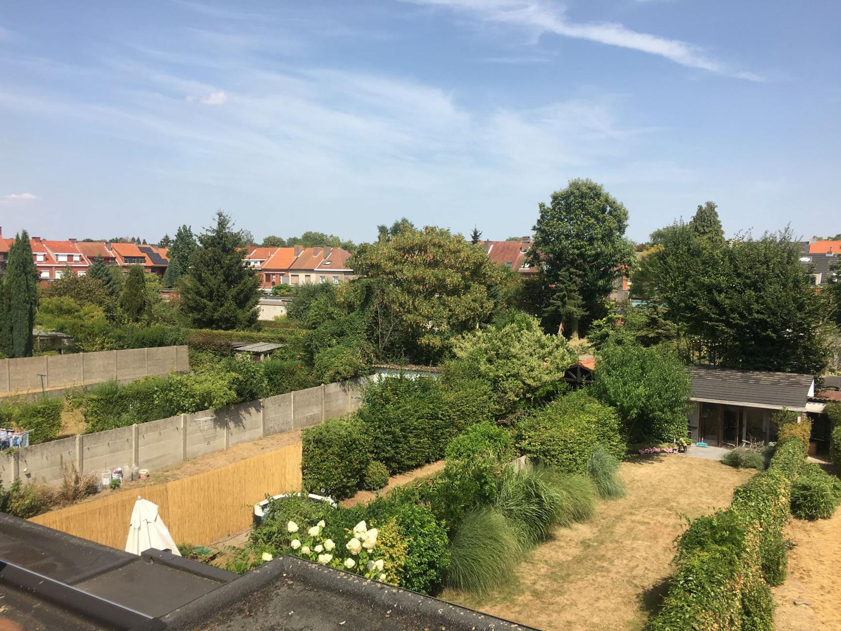 tuin zicht van boven