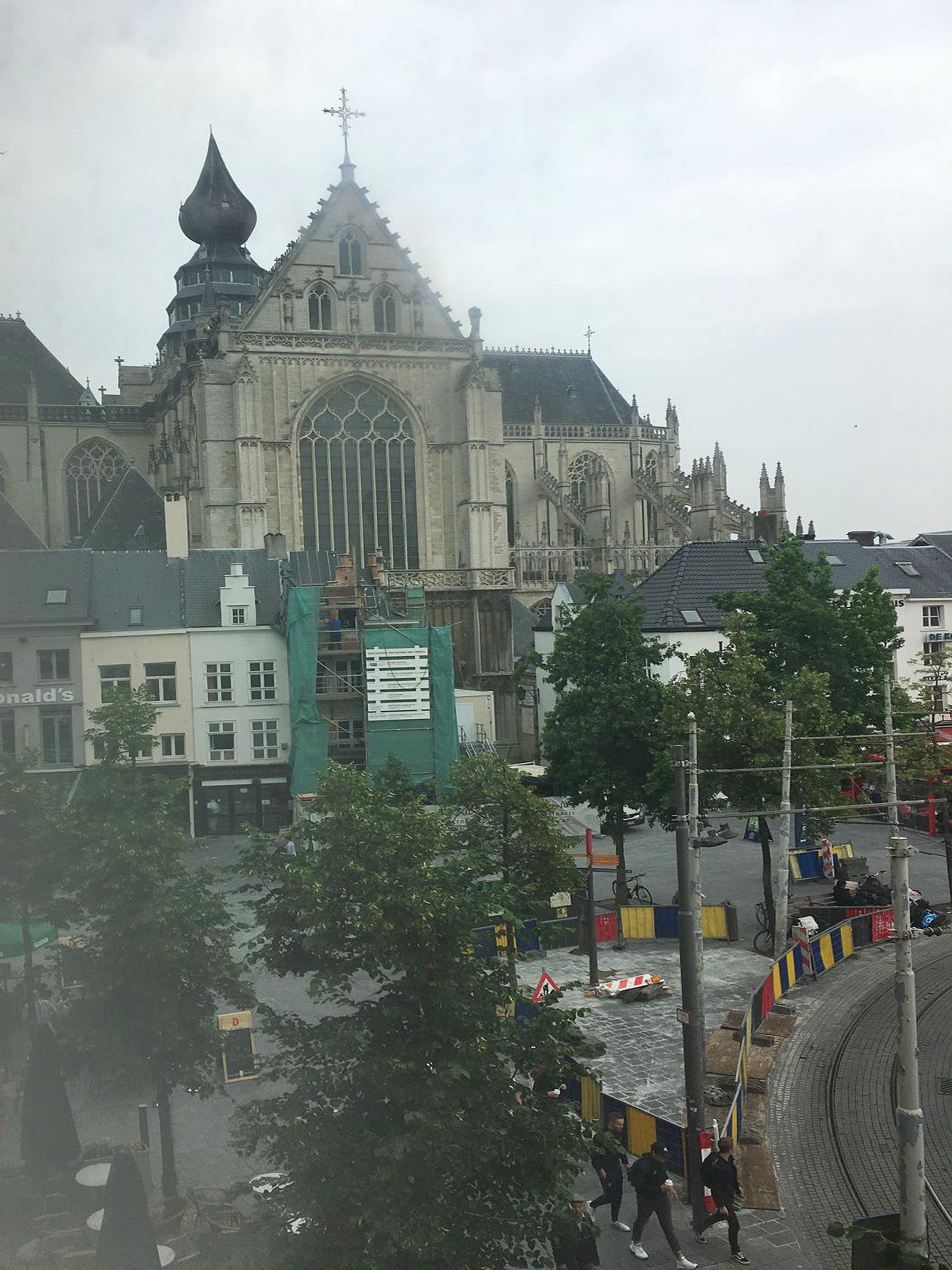 zicht katedraal