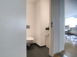 inkomhal met apart toilet