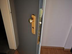 gepantserde deur
