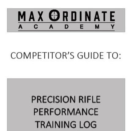 Rifleman Performance & Training Log