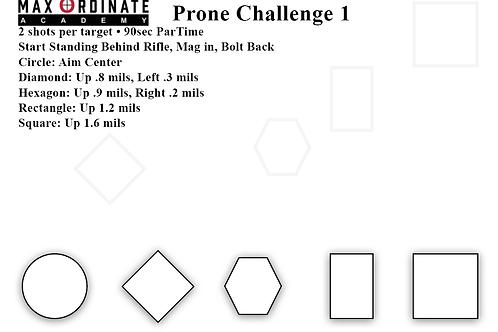 Prone Challenge 1