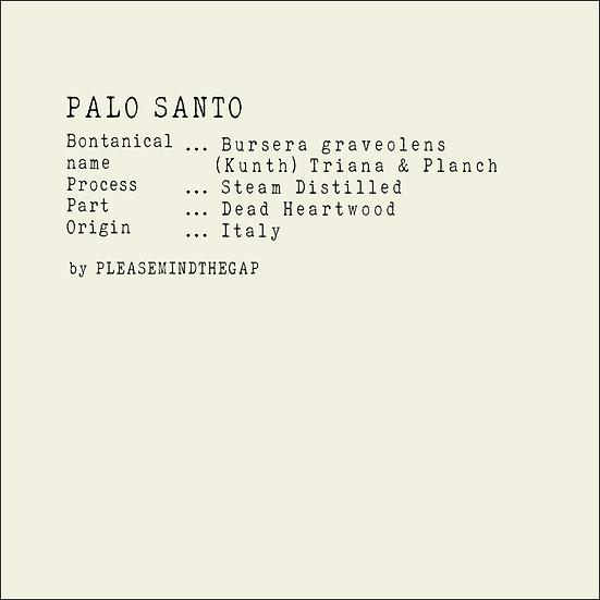 Palo Santo essential oil 10ML 秘魯聖木精油 10ML