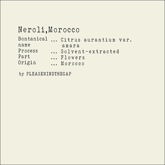 Morocco  Neroli essential oil 3ML | 5ML  摩洛哥橙花精油 3ML |  5ML