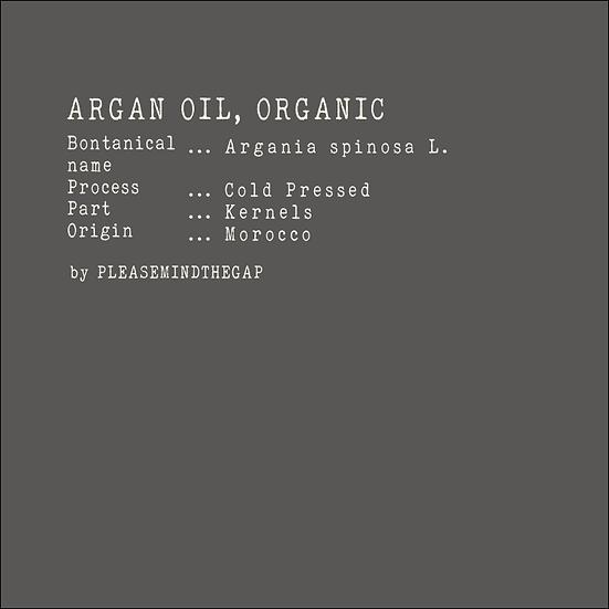 Argan Oil, Organic 有機摩洛哥堅果油  50ML