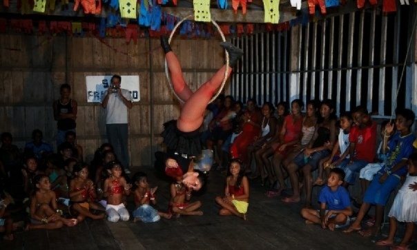Circo na Amazônia