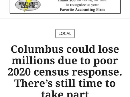 #Columbus #Georgia time to do better. A lot depends on the funding that comes from the #Census #Indi
