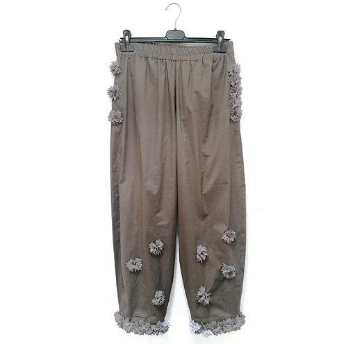 Pantaloni Oliva