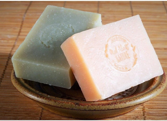 Rosemary & Lemongrass Shampoo, Shave & Shower Bar