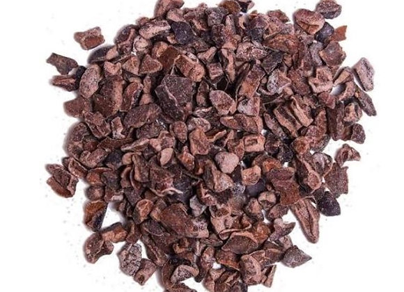 organic cacao nibs per 100g