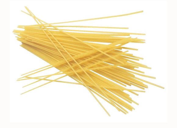 Organic white spaghetti per 100g