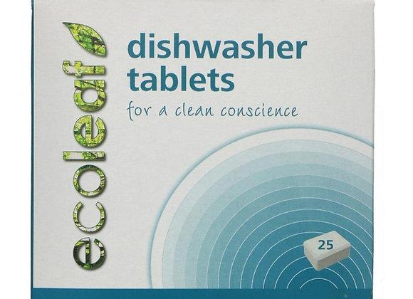 25 ecoleaf dishwasher tablets