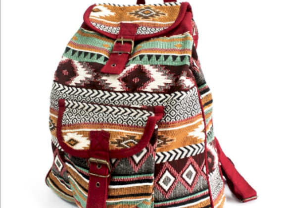 Jacquard chocolate back pack