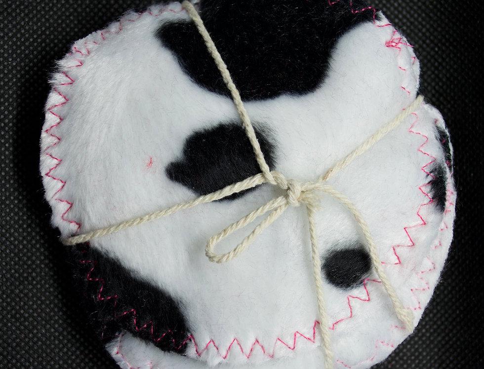 Handmade reusable make up wipes x 10
