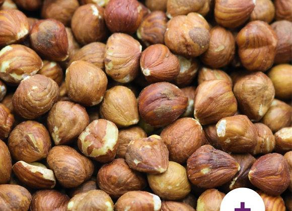 Organic hazelnuts per 100g