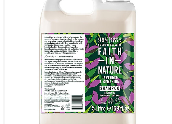 Faith in Nature Lavender & Geranium Shampoo per 100ml