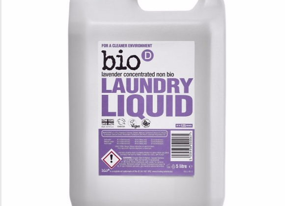 Bio D laundry liquid lavender per 100ml