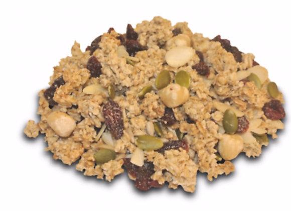 Berry granola per 100g
