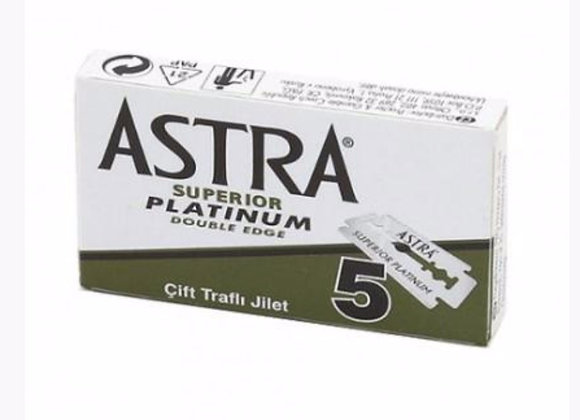 Astra superior double edge razor blades pack of 5