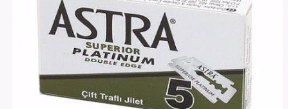 Astra superior double edge razor blades pack of 5