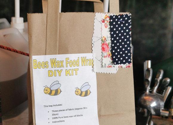 Bees wax food wrap kit