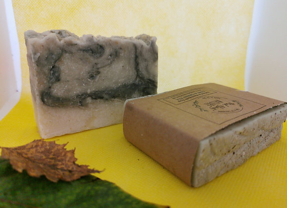 Handmade patchouli & sweet orange natural soap