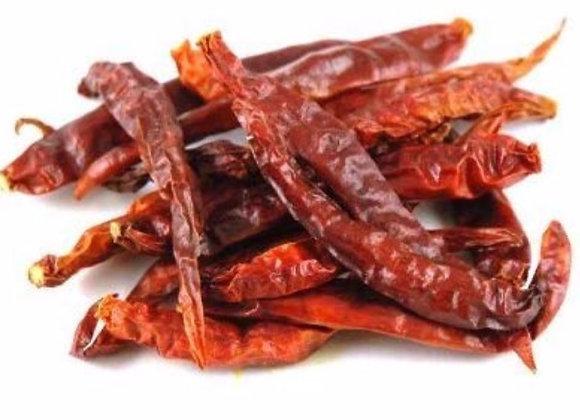 Whole chillis per 50g