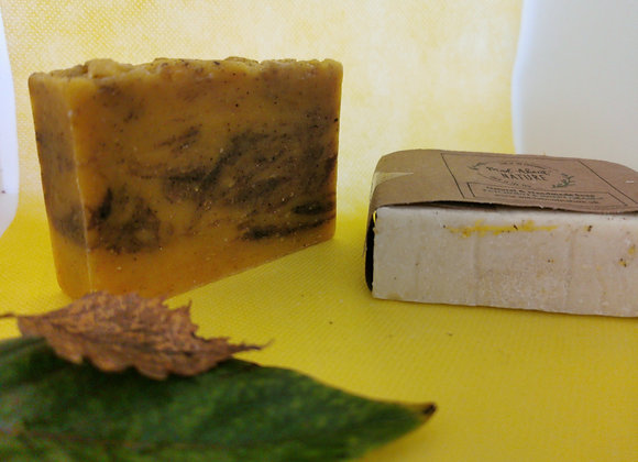 Hand made lavender, lemongrass & calendula natural soap