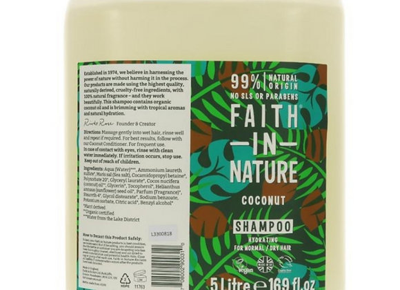 Faith in nature coconut shampoo per 100ml