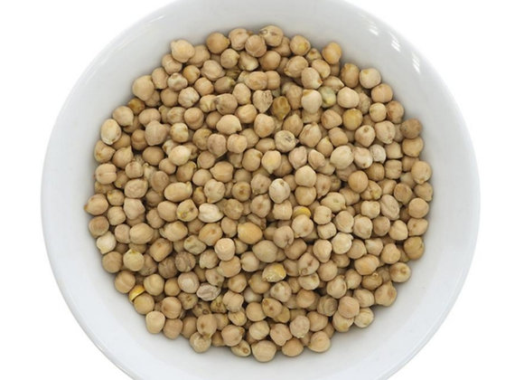 Organic chickpeas per 100g