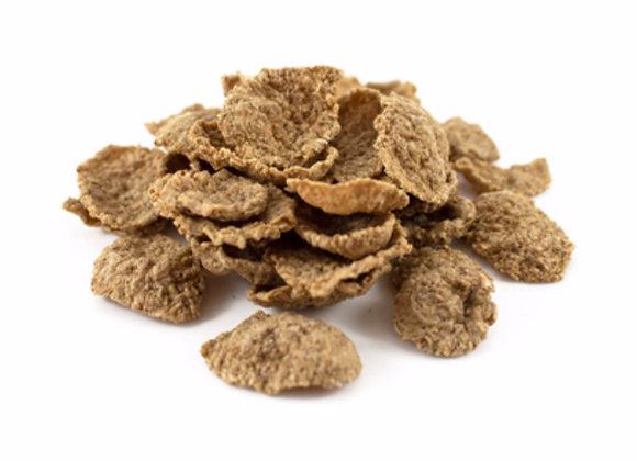 Organic bran flakes per 100g